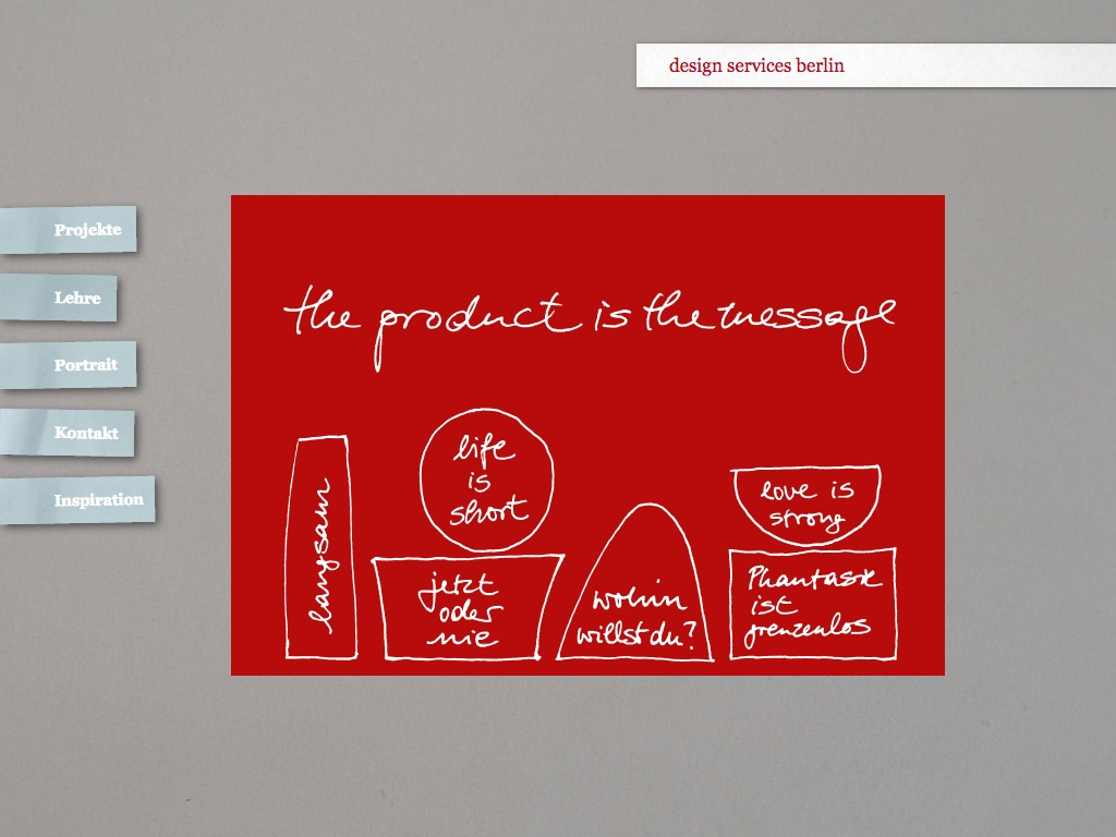 www.design-services.de Homepage